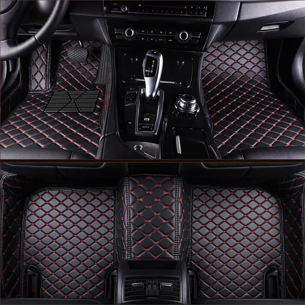 Custom Car Floor Mats For Tesla Model 3 Models 2017 2019 Laser Measured Faux Leather All Weather Full Coverage Waterproof Carpets Xpe Car Coches Y Motocicletas
