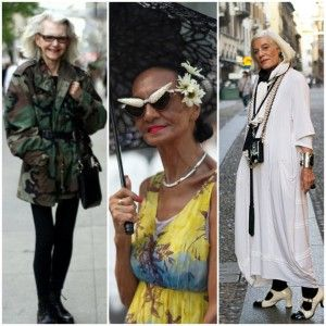 Inspirational elderly! #fashion #style