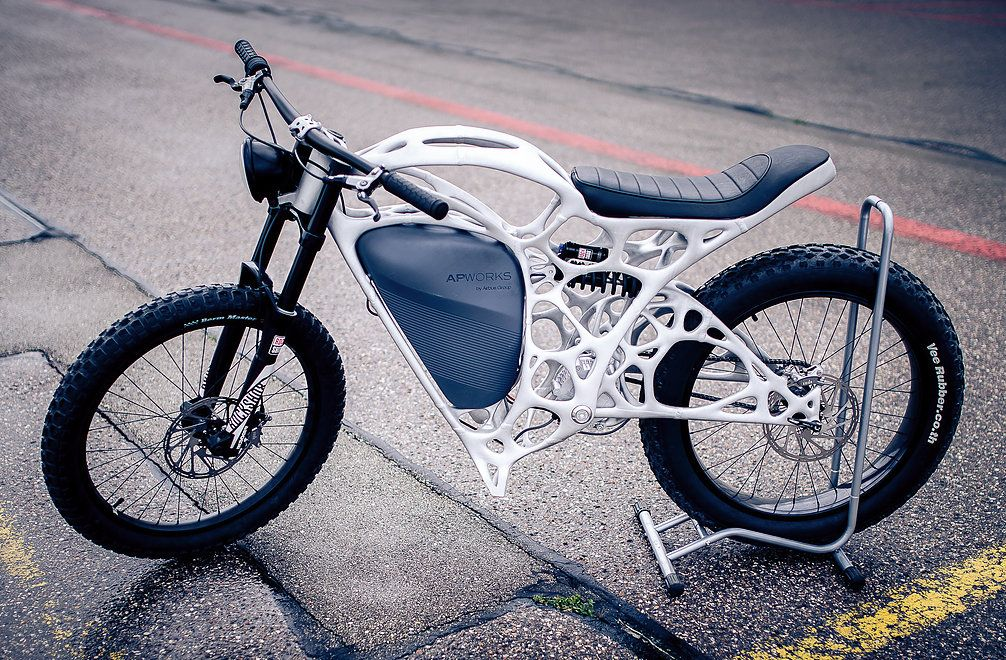 Light Rider | World's first 3D printed motorcycle