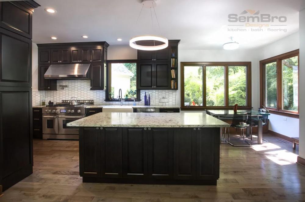 Stunning Dark Cabinets Kitchen Remodel - Columbus, Ohio ...