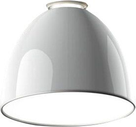 Photo of Artemide Nur Gloss 1-Light Semi Flush Mount Finish: White, Bulb Type: Halogen 150W E26 120V UL