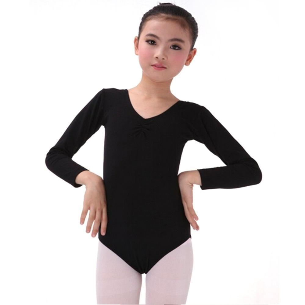 74f6c13f6 Click to Buy << Kids Long Sleeve Leotard Clothes Girls Ballet Dance  Gymnastics Dancewear #Affiliate