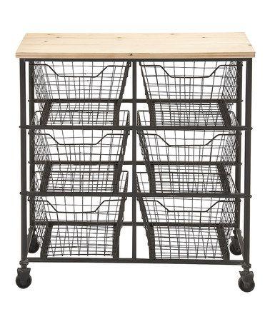 Love This Wide Mesh Drawer Storage Cart On #zulily! #zulilyfinds