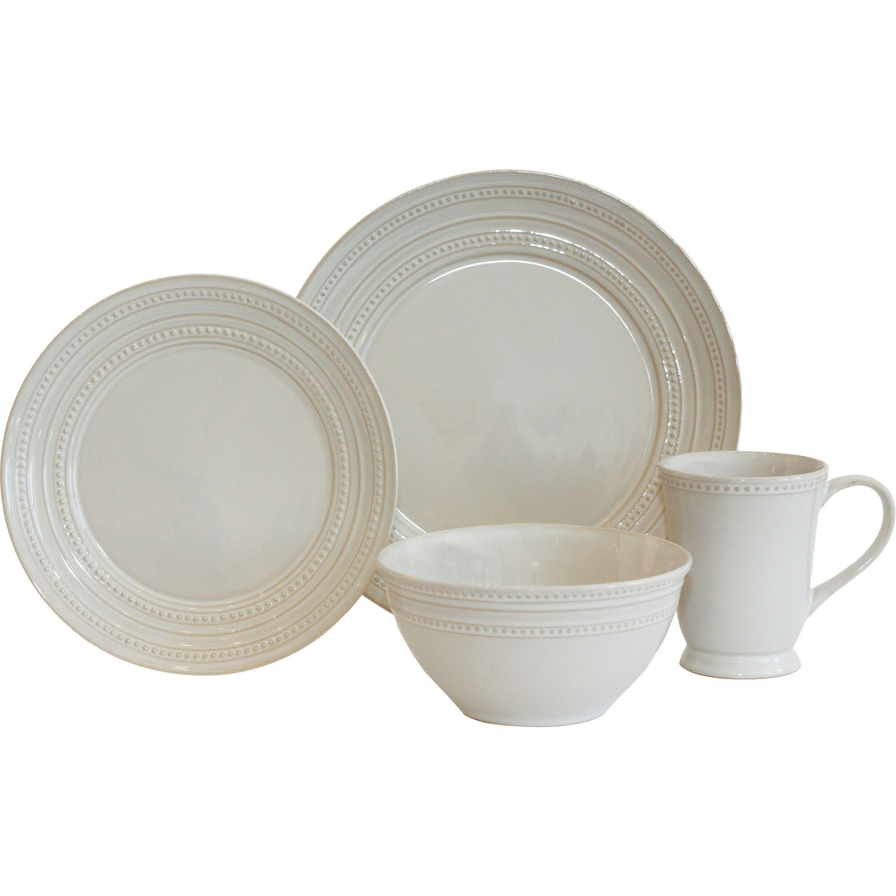 Baum Darby 16 Piece Dinnerware Set & Reviews | Wayfair | For the ...