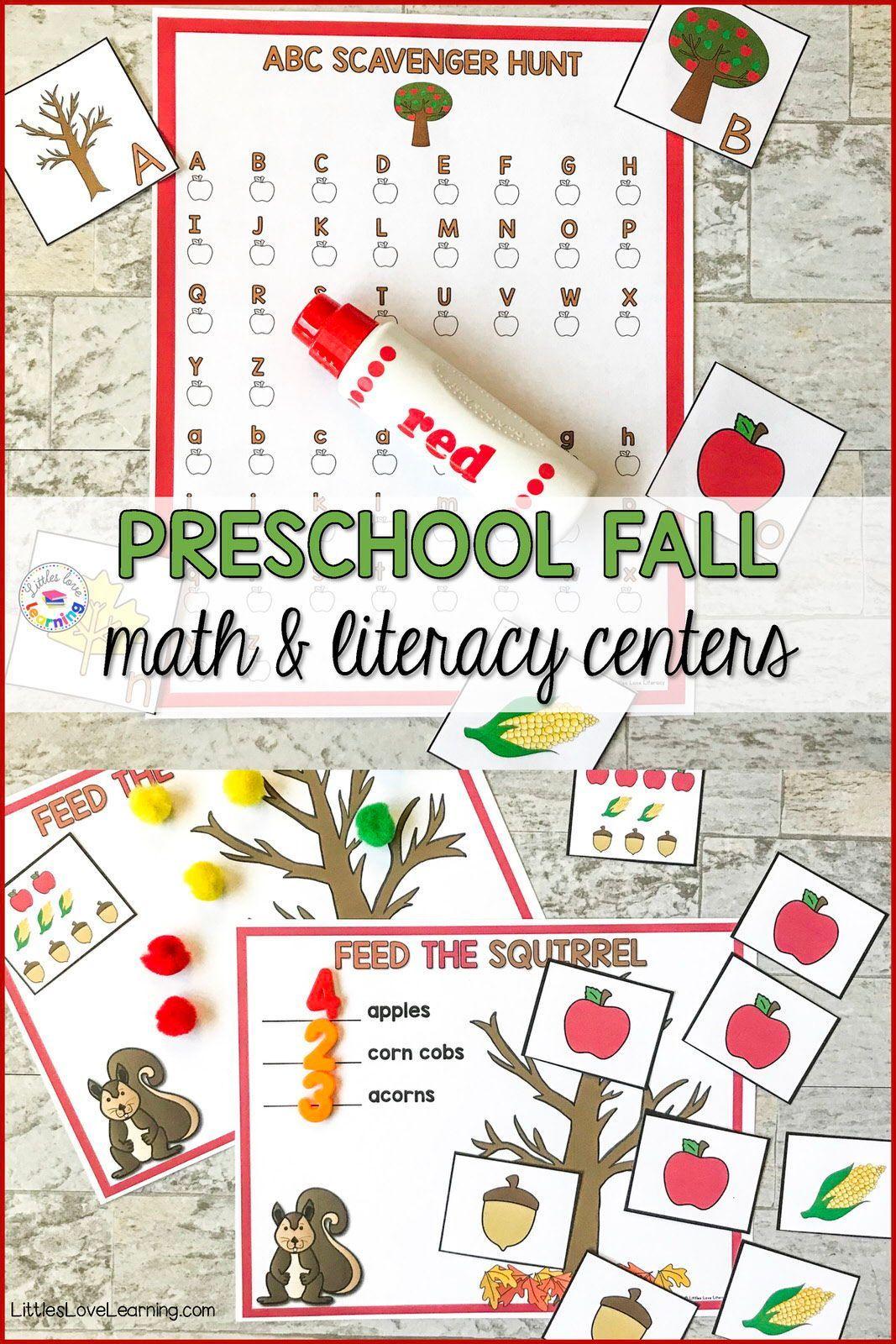 The Best Fall Preschool Activities For Math Literacy Fall Preschool Activities Preschool Activities Fall Preschool [ 1600 x 1067 Pixel ]