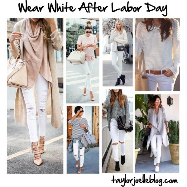 Wearing White After Labor Day Just Do It How To Wear Mom
