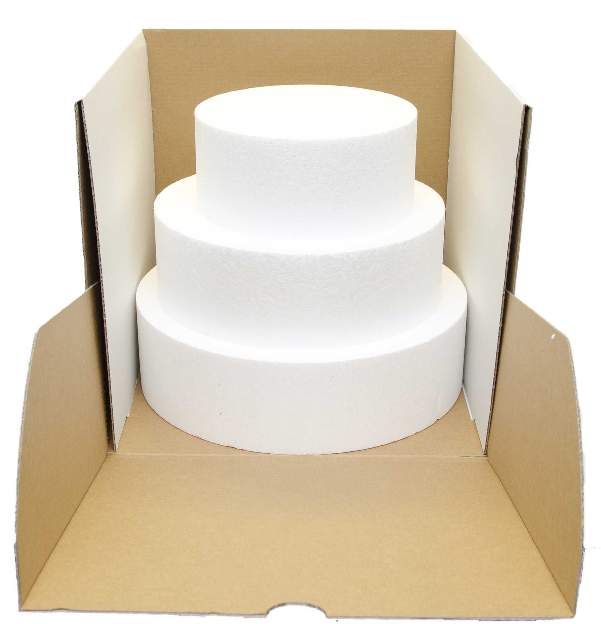 p red cardboard strong box for six cupcakes strong with clear