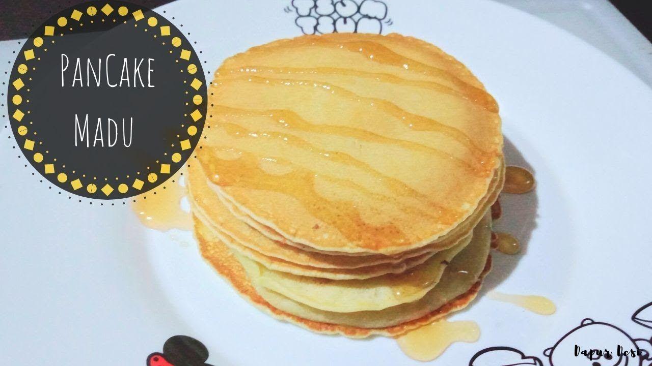 Resep Pancake Sederhana Dan Mudah Resep Sederhana Madu
