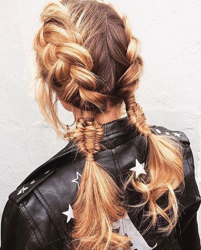 Easy Hairstyles For Girls Pullthrough Braid  Easy Hairstyles  Cute Girls Hairstyles  Hair