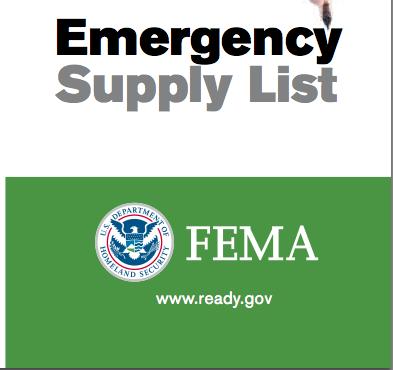 Fema 72 Hour Kit Supply List 72 Hour Emergency Kit Emergency Supply List 72 Hour Kits
