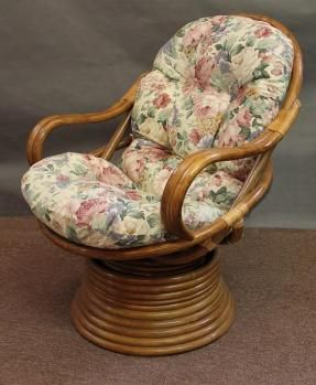 Exceptionnel Rattan Swivel Rocker Cushion All About Wicker   Wicker Furniture And Replacement  Cushions