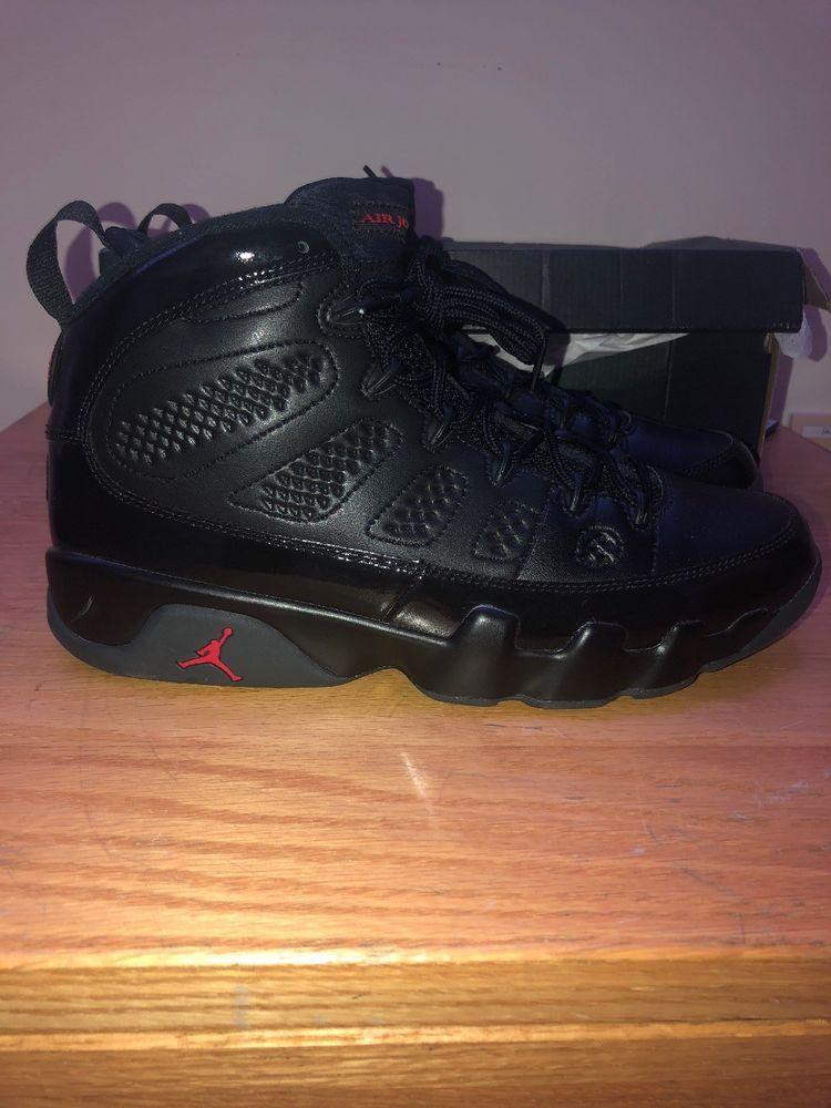 faa5921bc46ae3 Air Jordan 9 IX Retro Bred Black University Red 302370-014 Mens Size 11   fashion  clothing  shoes  accessories  mensshoes  athleticshoes (ebay link)