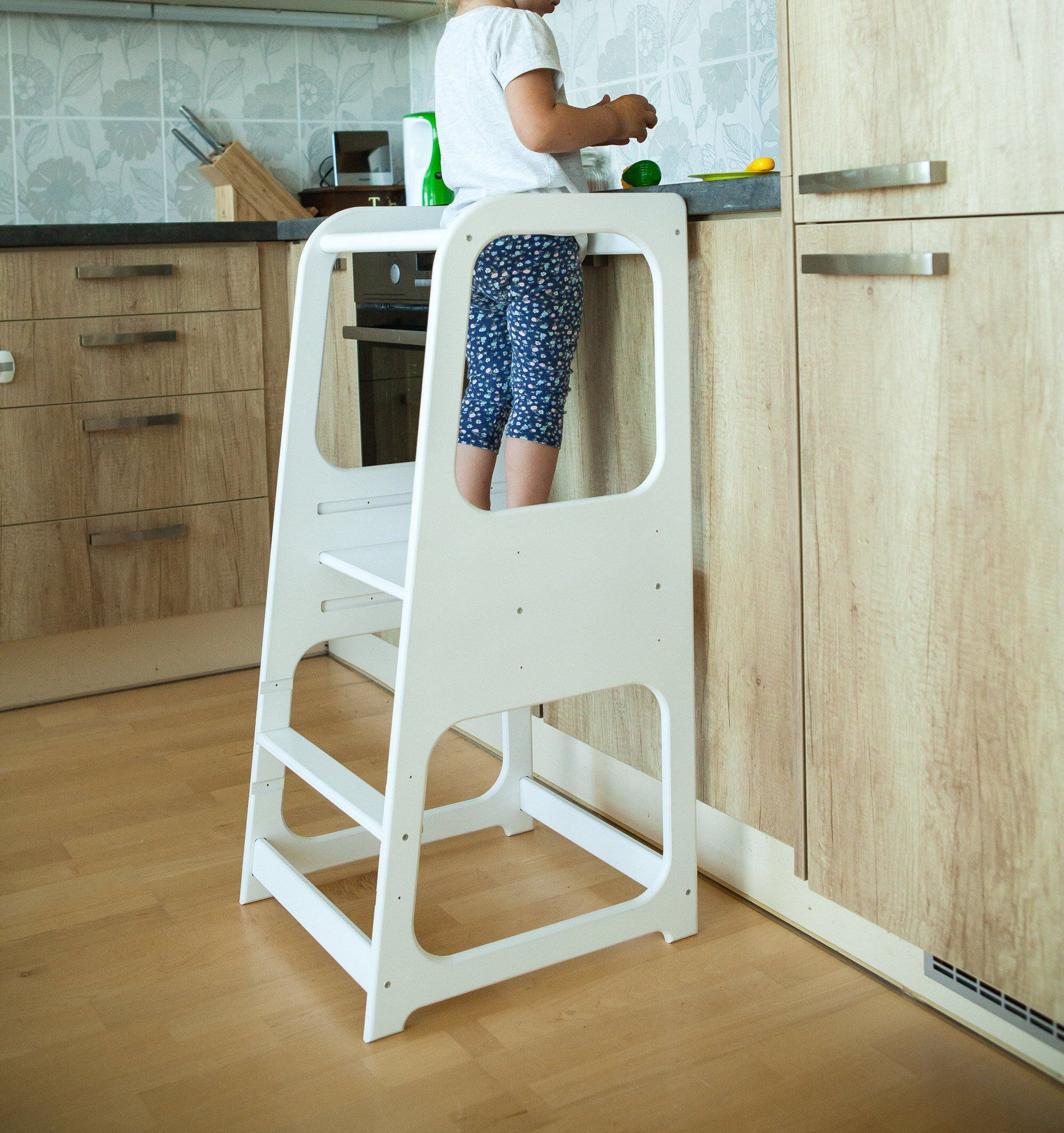 Admirable Learning Tower Kitchen Helper Kitchen Stool Safety Stool Gmtry Best Dining Table And Chair Ideas Images Gmtryco