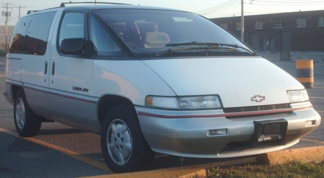 In 91 We Replaced The Caravan With A Lumina Chevrolet Lumina