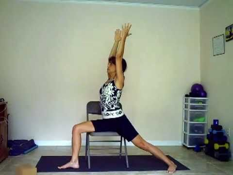chair yoga 2  chair yoga basic yoga poses basic yoga