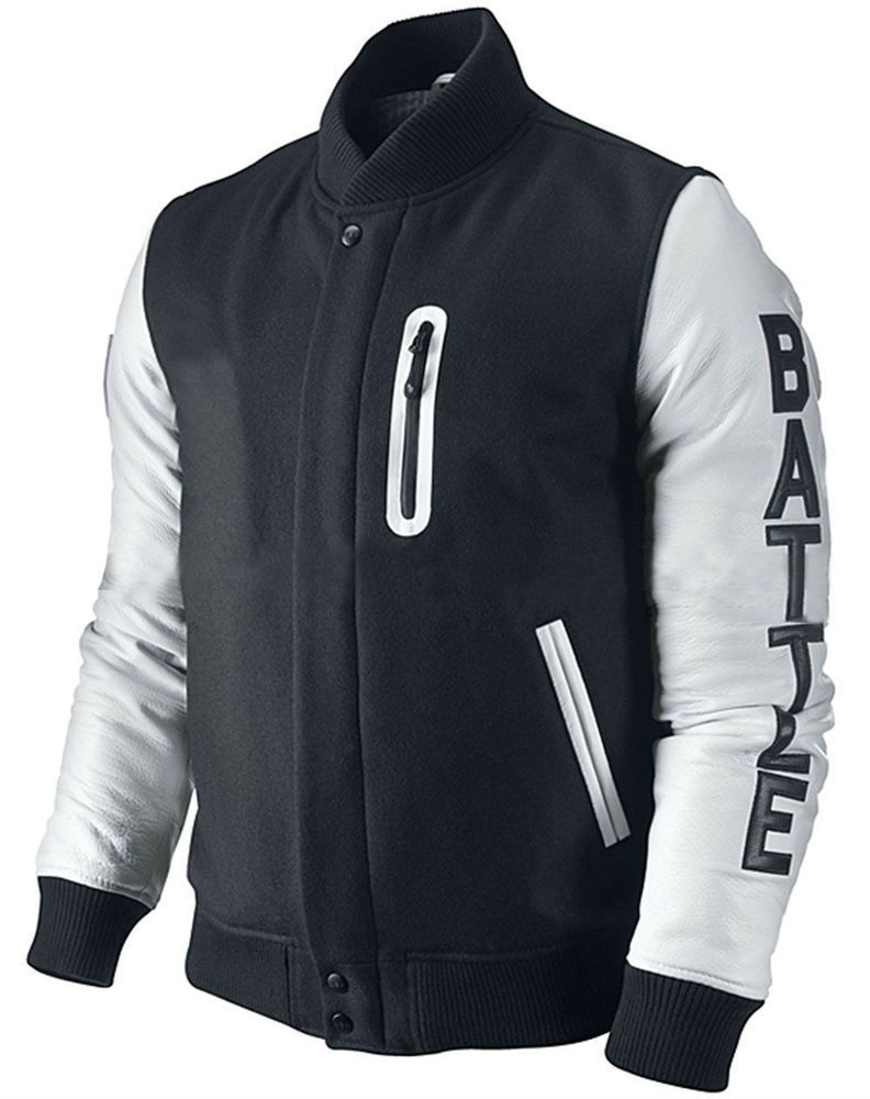 2655c4a30cd107 Michael B Jordan Battle Adonis Johnson Creed Black and White Jacket - All  Sizes  BNH  BasicJacket