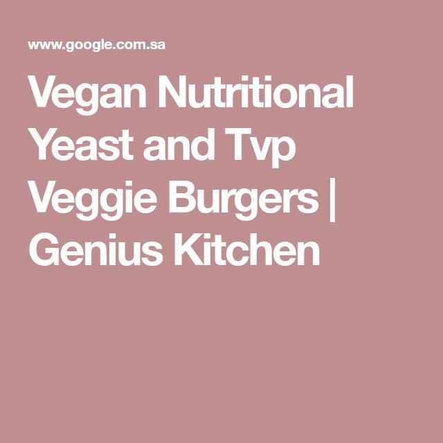 Vegan Veggie Burgers Recipe Food Com Recipe Veggie Burger Nutritional Yeast Vegan