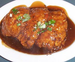 What's Cookin' at Bubby's Today?: Shrimp Egg Foo Yong with Gravy