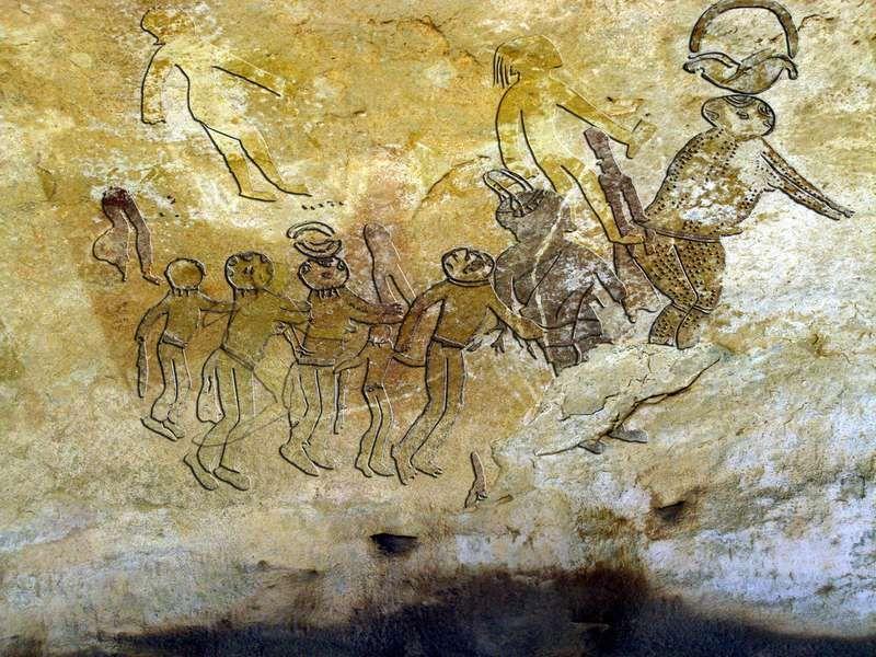 Ancient Aliens Paintings