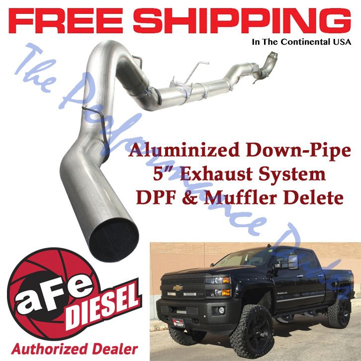 Same Business Day Shipping Afe 5 Atlas Exhaust 2011 2015 Chevy