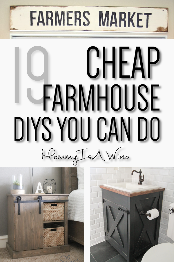 Photo of 19 Easy DIY Farmhouse Decor Anyone Can Do – Mommy Thrives