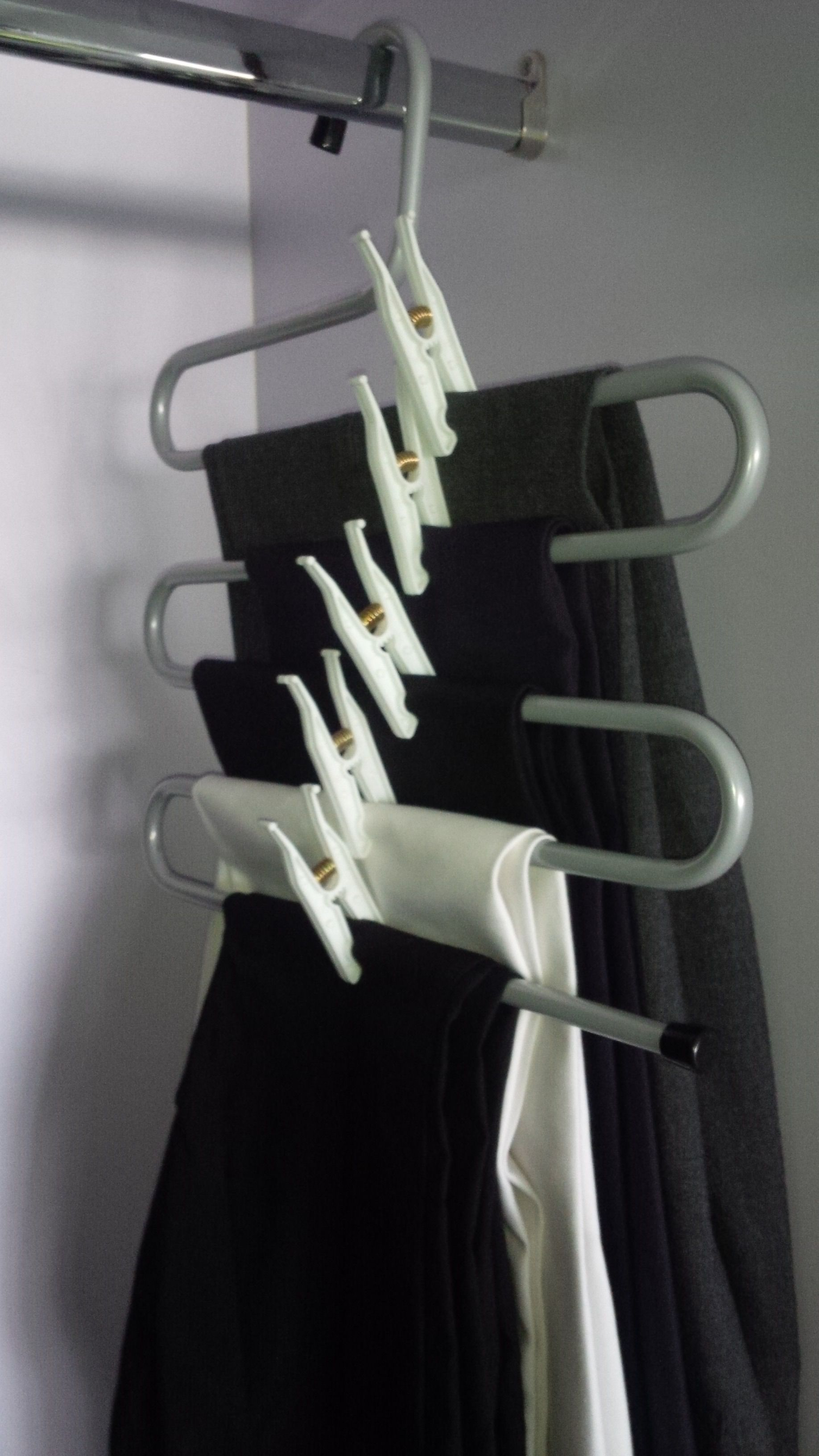 Ikea Brallis Clothes Hanger Useful Tip Hack To Improve Performance Add A Cl Add B In 2020 Clothes Hanger Hanger Pant Hangers