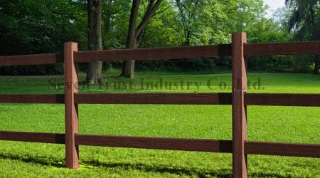 wooden farm fence. Horse Farm Fence,Wood Plastic Composite Fence,solid Material Wooden Fence