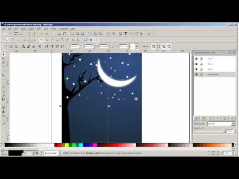 In this tutorial we shall see how to use layers in Inkscape by using ...