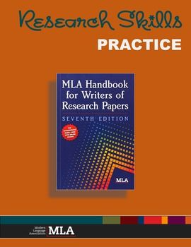 Powerpoint Introduction To Mla In 2020 Format Paper Essay Help Handbook For Writer Of Research 7th Edition 2009