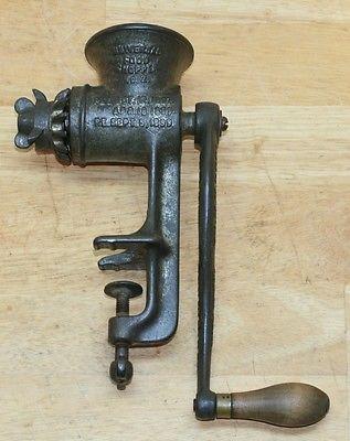 1899 Antiguo Universal alimentos Chopper No. 2 Landers, Frary & Clark New Britain Ct