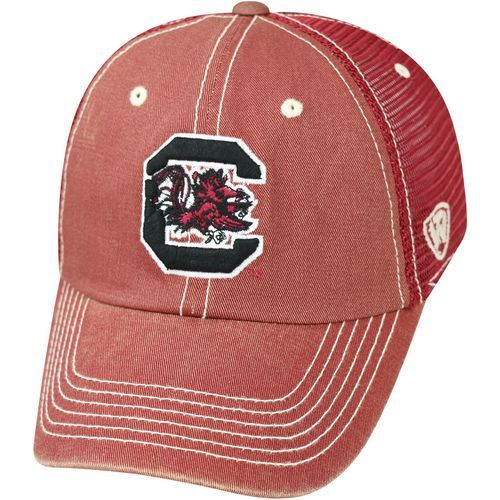 Top of the World Men's University of South Carolina Crossroad TMC Cap (Red Dark, Size One Size) - NCAA Licensed Product, NCAA Men's Caps at Academy...
