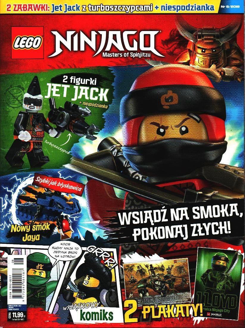 Lego Ninjago Master Of Spinjitzu Magazyn Prasa Sklep Empikcom