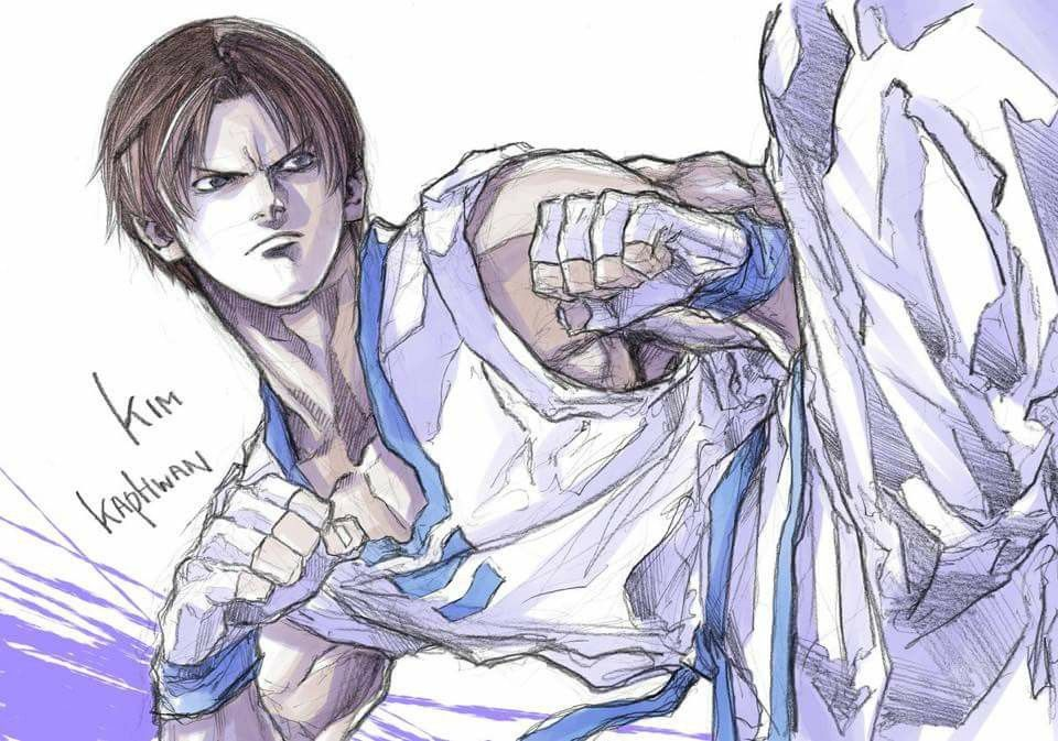 motoki yoshihara kim kaphwan kof arte manga desenhos ideias para desenho pinterest