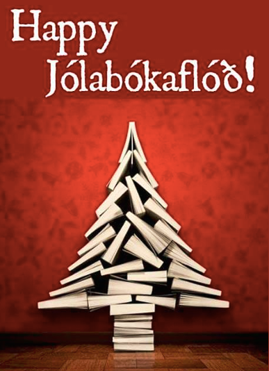 Christmas Book Flood in Iceland http://globetrottinkids.com/2015 ...