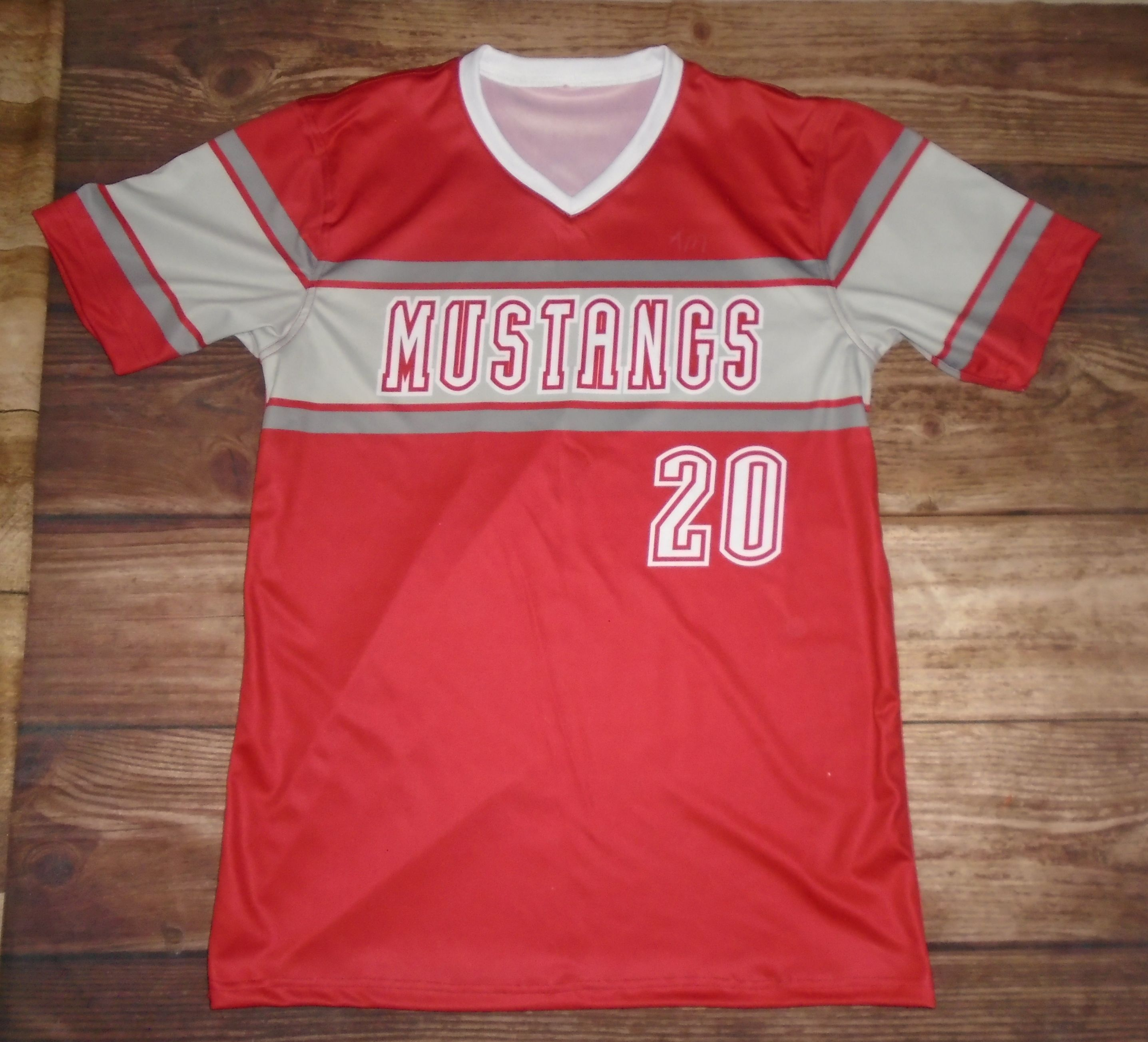 fe5632fd6 Take a look at these custom jerseys designed by Chisum Mustangs Baseball  and created at Kings Sports And Awards in Paris