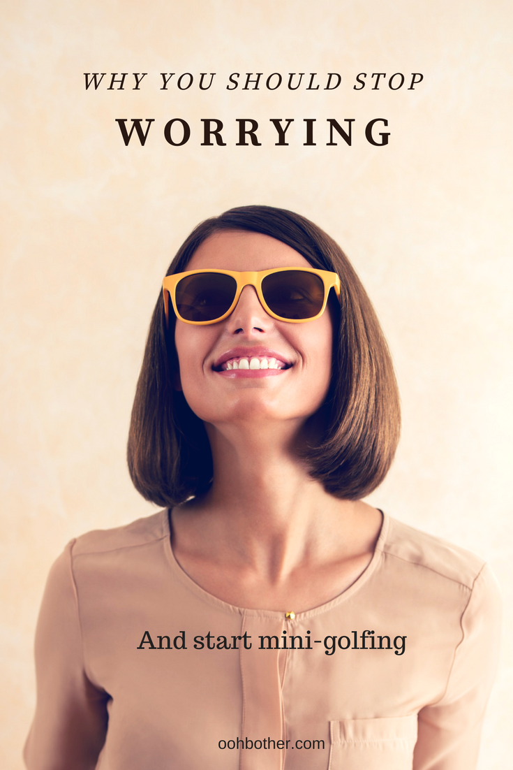 how to stop over worrying