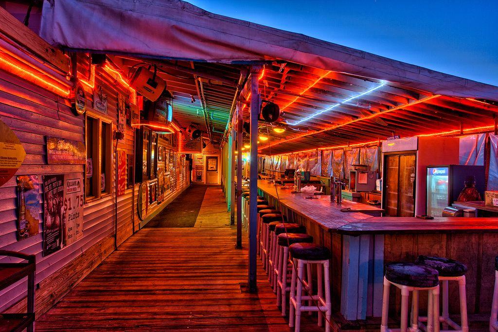 Beach Bars In Hdr Cocoa Beach Pier Bar Florida Cocoa Beach Florida Beach Bars Florida Vacation