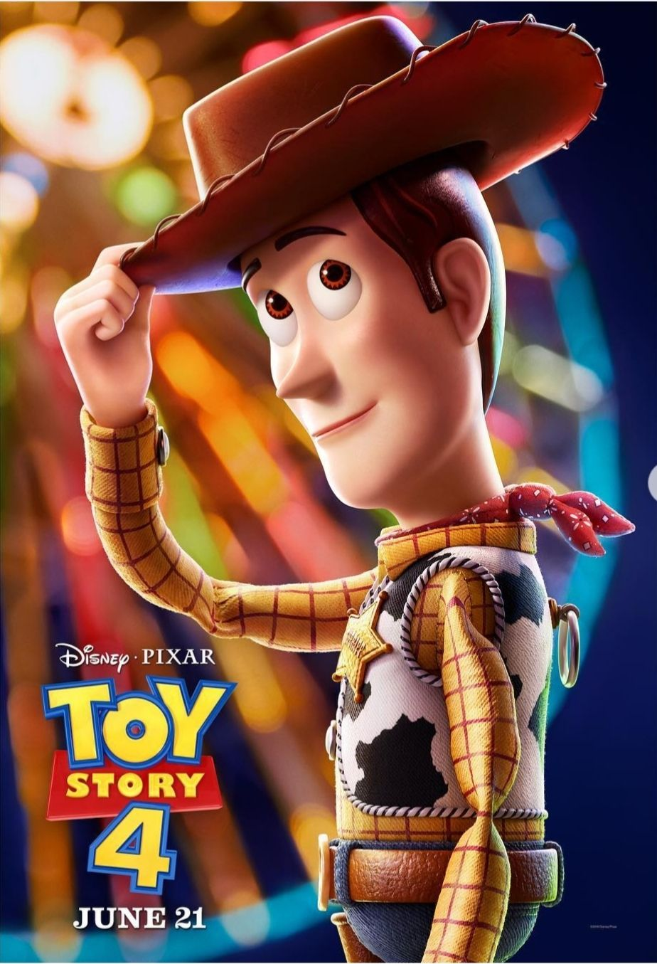 Colorful New Toy Story 4 Posters Are Here Woody Toy Story New Toy Story Toy Story Movie