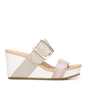 Dr. Scholl's Orig Collection Women's Frill High Wedge Sandal