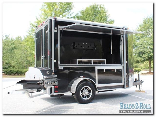10. Innovative Ideas 6x10 Black LSU Fan Tailgating Trailer ...
