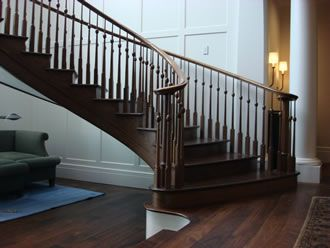 Best Black Walnut Staircase And Handrail Built In 2009 For 400 x 300
