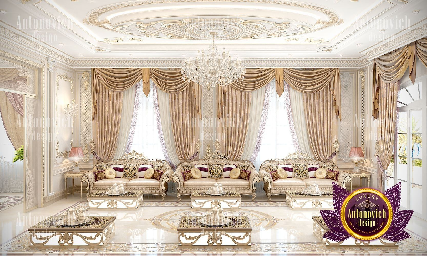 Luxury Villa Interior Design In Abu Dhabi Interior Design Programs Interior Design Dubai Interior Design