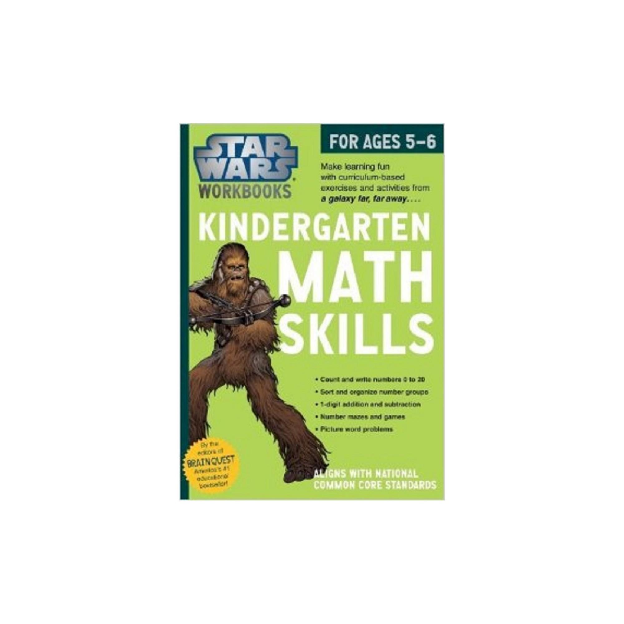 Star Wars Kindergarten Math Skills For Ages 5 6 By