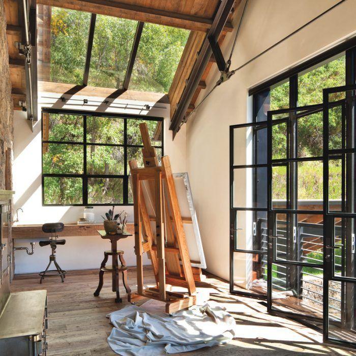 Rustic Meets Industrial In A Colorado Mountain Home | Luxe Interiors + Design