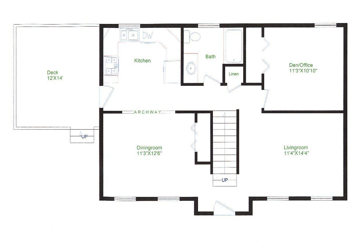 Floor Plans Small Houses Floor Ranch Style Home Rancher