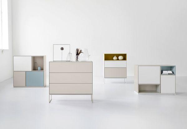 Modular Möbel modulare möbel boxen schränke matt subtile farben box