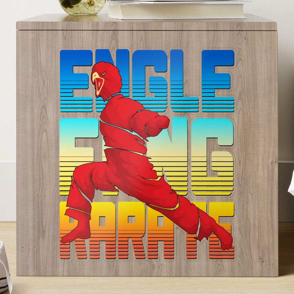 Eagle Fang Karate Cool Design For Karate Sticker By Mosaid In 2021 Karate Stickers Cool Designs Cool Stuff [ 1000 x 1000 Pixel ]