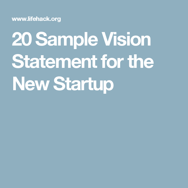 Inspiring Vision Statement Examples  Updated  Vision