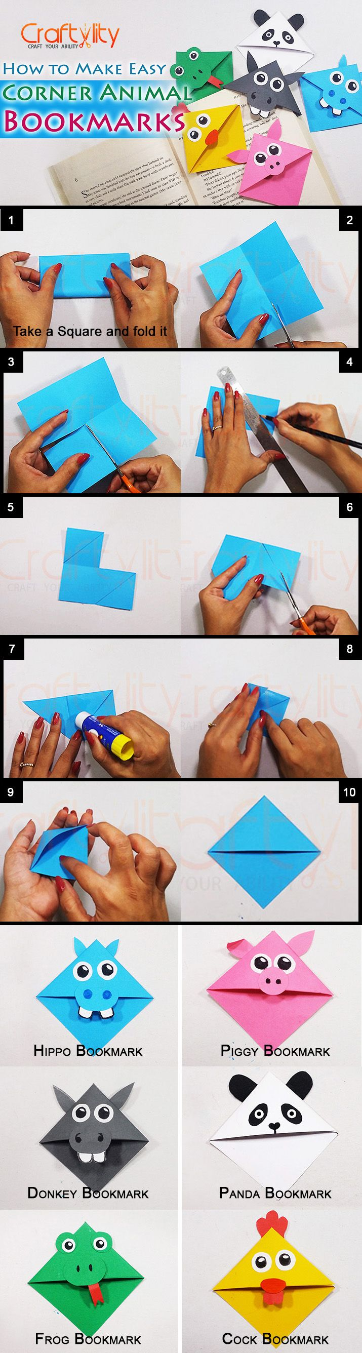 In this post you will find step by step instructions on for How to make easy crafts step by step