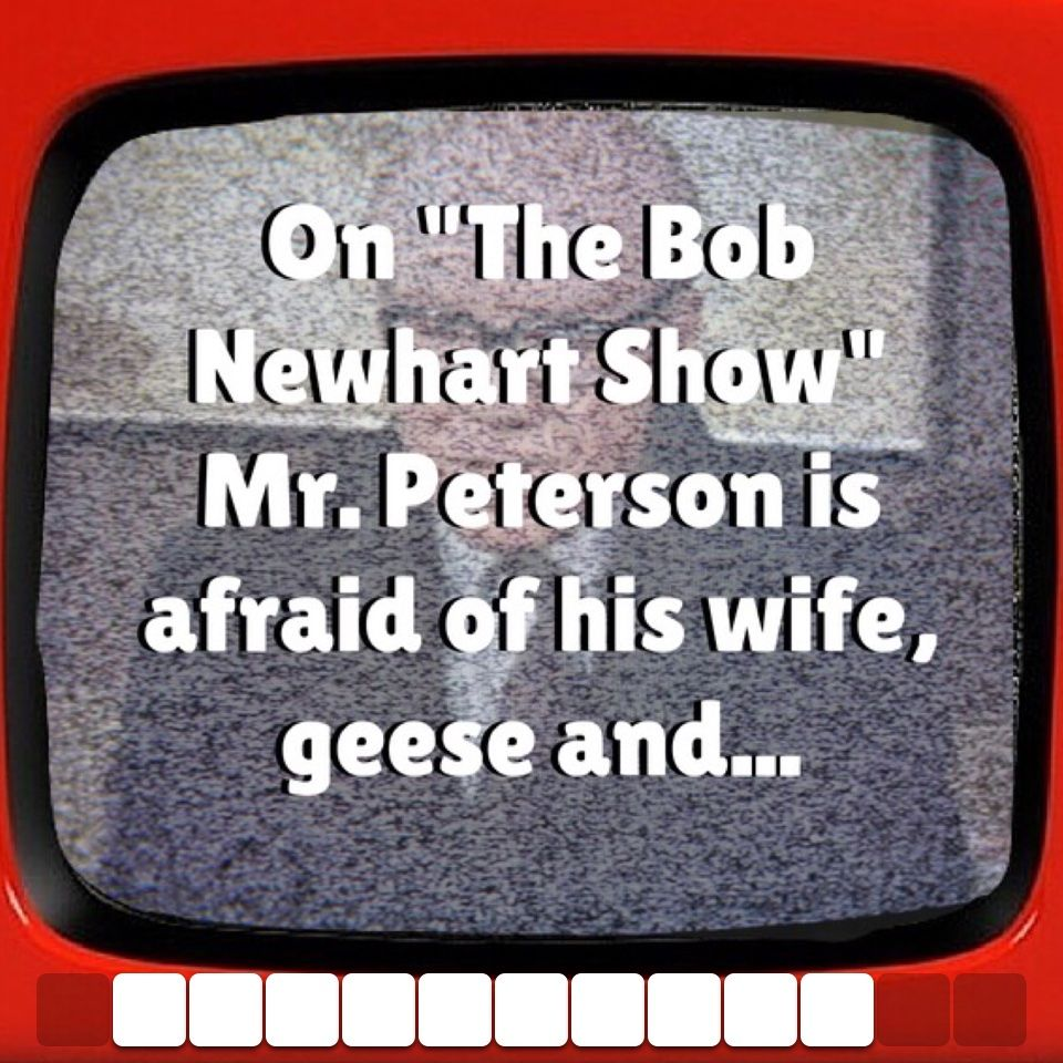 Haha! Click to solve. ) trivial trivia bobnewhart